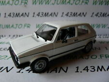 SOL18N Voiture 1/43 solido (Made in France) VOLKSWAGEN golf 1 gti blanche