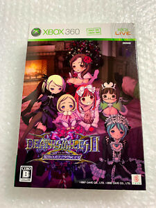 """Deathsmiles II X Limited Edition """"Good Condition"""" Xbox 360 Japan Game"""