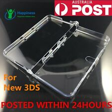 Transparent Clear Crystal Hard Case Cover Shell Skin For  Nintendo NEW 3DS