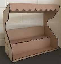 Y126 XL Craft Fair Stall AMERICAN STYLE Stand Sweet Display Unit STORAGE Counter