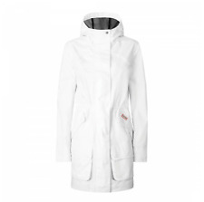Hunter White Cotton Hunting Coat Water Repellent Jacket Size S or L RRP 195