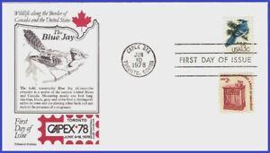 USA3 #1757d U/A ARISTOCRAT FDC   Blue Jay