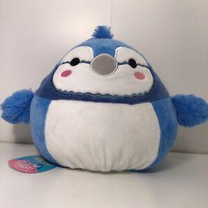 "Squishmallow 8"" Babs Bluejay Bebe Bird FlipAMallow REVERSIBLE 2in1 Plush"