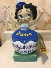 New Betty Boop Sugar Loaf June Birthday Bash Cupcakes Plush
