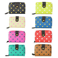 Women's Special PU Leather Polka Dots Printed Small/ Mini Wallets