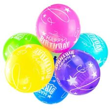 "10 Happy Birthday Balloons 12"" Latex Balloon Kids Party Decor Space Star (Stars)"
