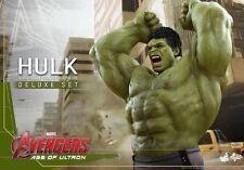 Hot Toys 1/6 Marvel Avengers Mms287 Hulk Deluxe Set 42cm Tall Acrion Figure
