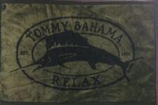 "TOMMY BAHAMA Marlin Green & Black 60%Rayon/40% Cotton Cloth Towel Decor 23x16"""