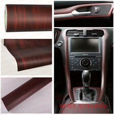 60*120CM Glossy Wood Grain Textured Vinyl Self-adhesive Car Wrap Decals Sticker