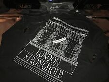 33b22c3bed83 PALACE SKATEBOARDS LONDON STRONGHOLD 3M X-LARGE BLACK LONG SLEEVE LS TEE XL  FW16