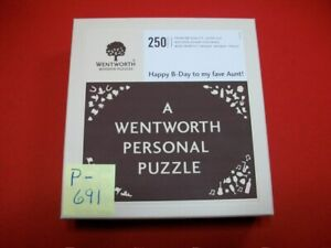 """BRAND NEW WENTWORTH PERSONAL WOODEN LASER-CUT PUZZLE 250 """"WHIMSY"""" PCS. #472136"""