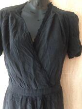 Magnifique soirée MAJE 100% soie robe femme taille 2/M