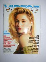 Magazine VIDEO 7 #81 septembre 1988 cover Emmanuelle Beart