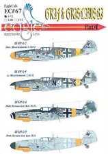 EagleCals Decals 1/72 MESSERSCHMITT Bf-109 GRAF & GRISLAWSKI Hermann Graf #4