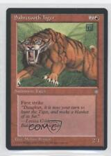 1995 Magic: The Gathering - Ice Age Booster Pack Base #NoN Sabretooth Tiger 0a0