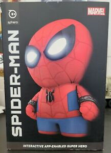 RARE SPHERO Spiderman Spider-Man Interactive Robot App-Enabled SP001 w/Box & Acc