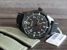 Alpina Startimer Pilot Quartz Watch, 42mm pad black free strap   Clearance sale