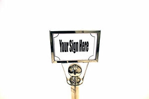 A4 Sign Holders to fit our barrier posts - Landscape Sign Holders, Display Signs