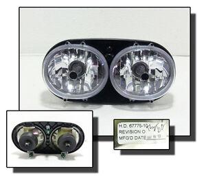 Harley Davidson FXST 1450 Softail Standart Scheinwerfer Lampe Licht Headlamp