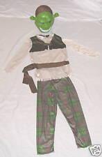 "Disney Green ""Shreck 3rd"" 4 Pc Halloween Costume Sm 3-6"