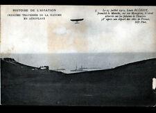 AVIATION / Louis BLERIOT atterrissant sur FALAISES de DOUVRES le 25 Juillet 1909
