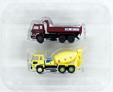 Tomytec The Truck Collection Dump Truck & Mixer Truck Set A 1/150 N scale