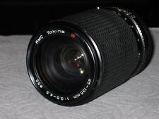 TOKINA RMC  35 - 135 mm WITH MACRO 1 : 3.5 - 4.5 ZOOM LENS FOR CANON FD MOUNT
