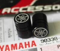 YAMAHA VALVE DUST CAP BLACK ANODISED R1 R6 FZR YZF  GENUINE YAMAHA