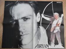 BRYAN ADAMS + RICHARD GRIECO BRAVO Super-Poster 52 x 40 cm Clipping 57