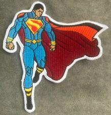 BLACK SUPERMAN embroidered figure patch DC matters Universe Calvin Ellis lives