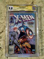 X-Men #268 CGC 9.8 Newstand SS Jim Lee, Chris Claremont, and Scott Williams.