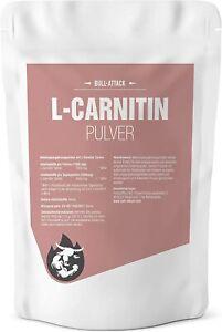L-Carnitin Tartrat 250g hochwertiges, reines Pulver Diät Fatburner Stoffwechsel