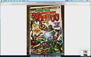 🔥STRANGE TALES #170 MARVEL Comic Book (1973) SECOND APPEARANCE BROTHER VOODOO🔥