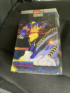 Marvel Comics Wolverine Model Kit, Toy Biz 1996, Level 2  shrink wrapped