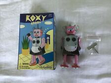 Foxy Robot Collectible Wind Up Tin Toy