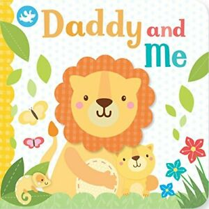 Little Learners Daddy and Me (Little Learners Finger Puppet) by Parragon Book