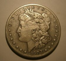 "1903 S Morgan Silver Dollar Very Nice, Better Date #18-013 ""We Combine Shipping"""