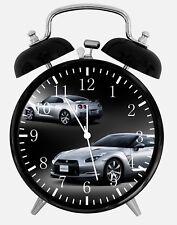 """Nissan GTR Alarm Desk Clock 3.75"""" Home or Office Decor Z164 Nice For Gift"""