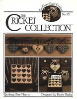 Quilting Bee Hearts for Counted Cross Stitch Cross-Eyed Cricket Collection No 13