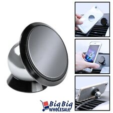 Magnetic Car Cell Phone Dash Mount Holder 360 Rotating For iPhone GPS Samsung