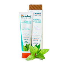 Himalaya Whitening Mint Toothpaste - Simply Mint 5.29 Oz (1 Pack) Fluoride-Free