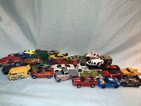 Lot of 28 Hot Wheels Matchbox & Maisto Cars Trucks
