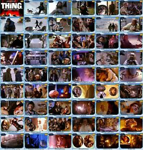 The Thing 1982 movie storyboard trading cards. Kurt Russell Keith David Horror