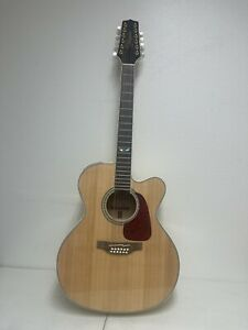 Takamine GJ72CE 12-String Jumbo Acoustic-Electric Guitar - Natural
