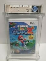 Wii - Super Mario Galaxy 2 - NEW Factory Sealed - WATA 9.4 A Graded Nintendo Wii