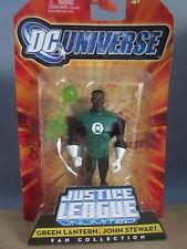 DC Universe Justice League Unltc: Green Lantern John Stewart Figure (2008) NOC