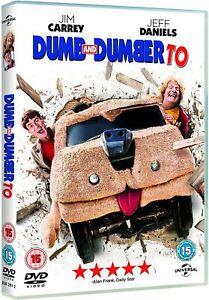 DUMB AND DUMBER TO DVD Jim Carrey Jeff Daniels Region 4 New & Sealed