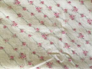 Simply Shabby Chic Pink Parlor Trellis Rose King Pillowcase Rare (1)