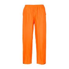 Portwest Adulto Clásico Adulto lluvia Pantalones varios color y talla s441