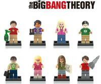 The Big Bang Theory Building Blocks Sheldon Cooper Leonard Hofstedter Toys Kids